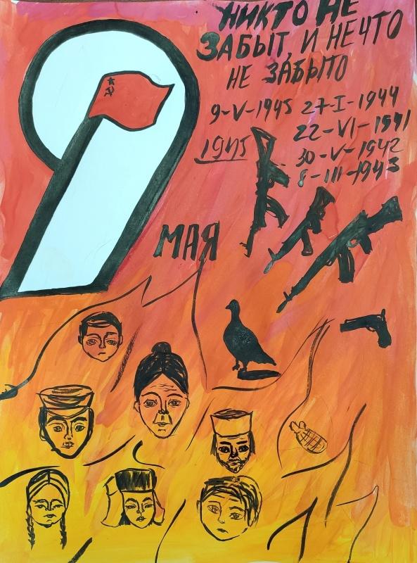 Итоги первого этапа конкурса детских рисунков «Никто не забыт, и ничто не забыто», посвященного 75-й годовщине Победы в Великой Отечественной войне