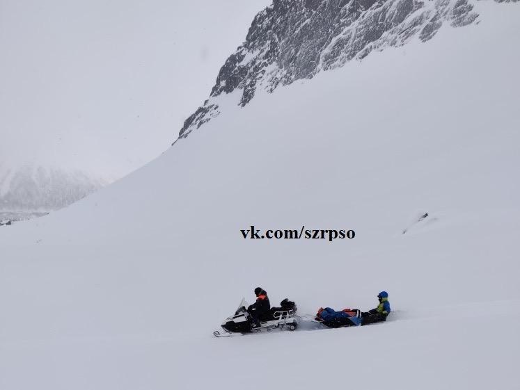 Спасатели пришли на помощь к альпинистам
