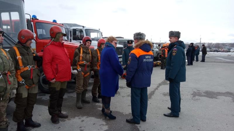 Комиссия МЧС России высоко оценила оснащённость подразделений оперативных служб Новосибирской области