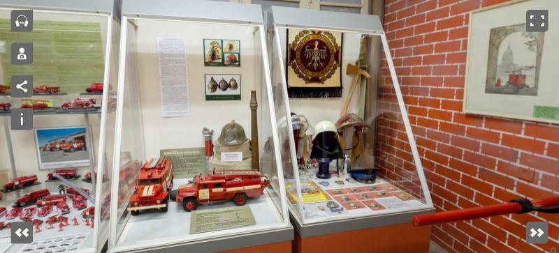 Предлагаем посетить пожарно-техническую выставку, не выходя из дома!