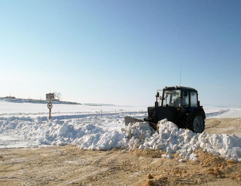 В Иркутской области закрыты шесть ледовых переправ из-за неудовлетворительного состояния льда