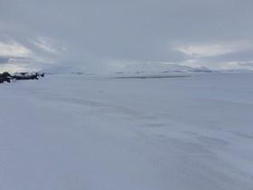 Инспекторы ГИМС предупреждают: на льду водоема «Лахтина» появляются опасные участки промоин во льду!