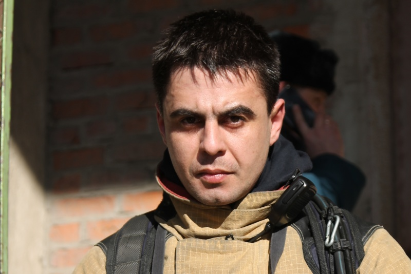 #РовесникиМЧС : мастер-пожарный 1 СПСЧ г.Курска Павел Трохименко