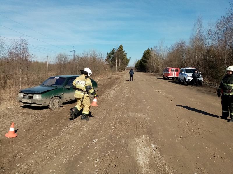 В Шарьинском районе прошла тренировка по оказанию помощи пострадавшим в ДТП