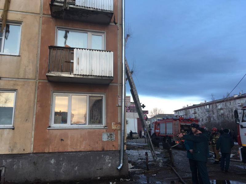 Ликвидация пожара в г. Зеленогорске 31.03.2020 г.