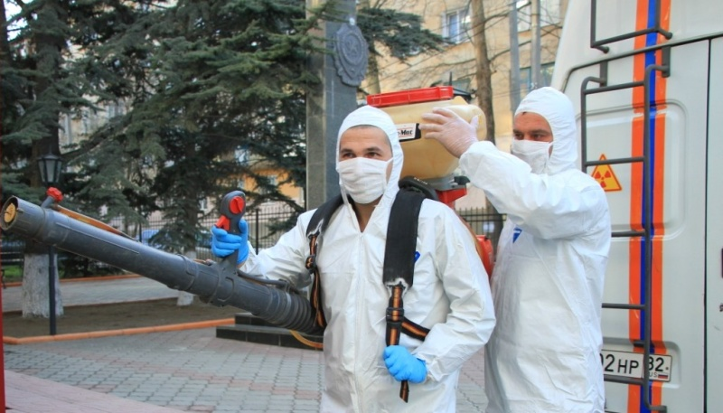В ГУ МЧС России по Республике Крым проводятся профилактические мероприятия по недопущению заболевания личного состава
