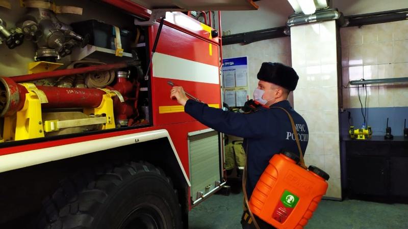 Пожарные и спасатели Подмосковья работают в режиме повышенной готовности с обязательным соблюдением санитарно-эпидемиологических норм