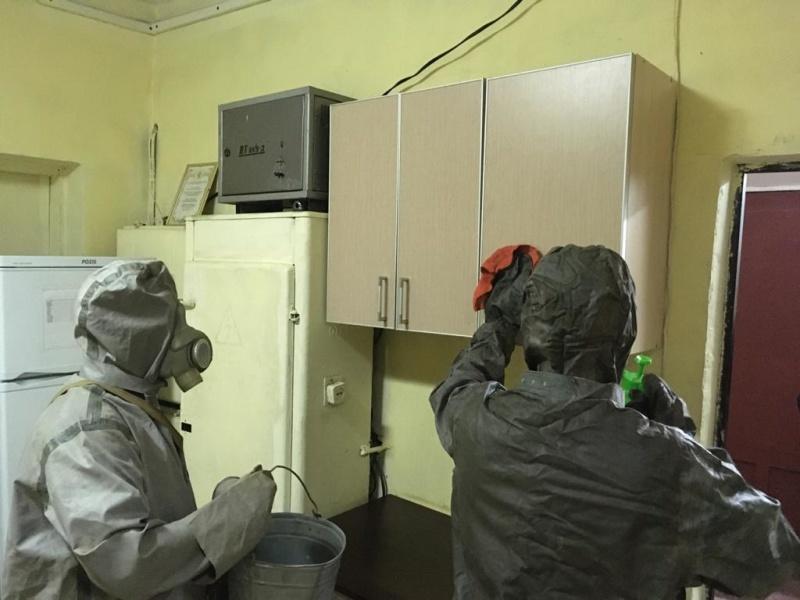 Сотрудники областного МЧС соблюдают  рекомендации Министерства здравоохранения