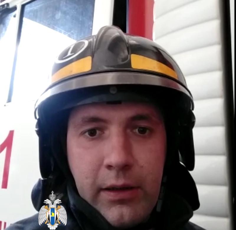 Сахалинские пожарные записали профилактическое видеообращение