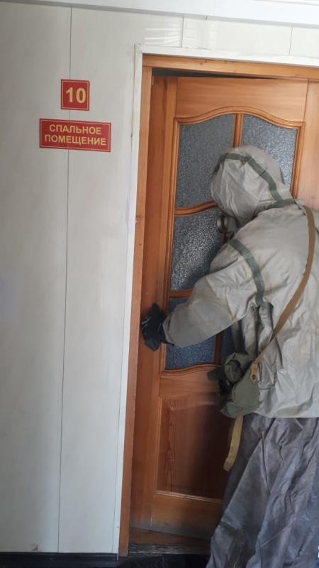 В Главном управлении МЧС России по Астраханской области продолжается  работа по недопущению заболевания личного состава