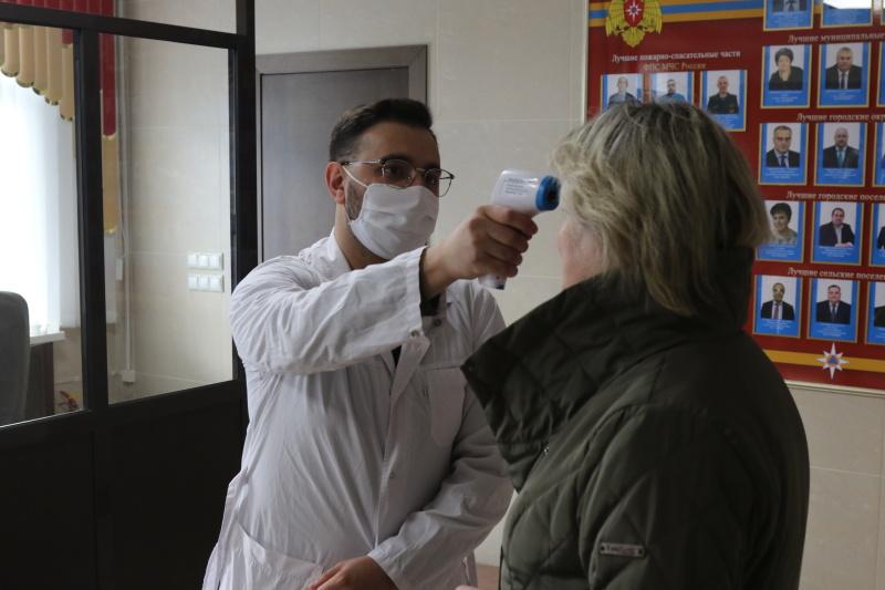 В Главном управлении МЧС России по Рязанской области продолжаются профилактические мероприятия, направленные на недопущение распространения коронавирусной инфекции