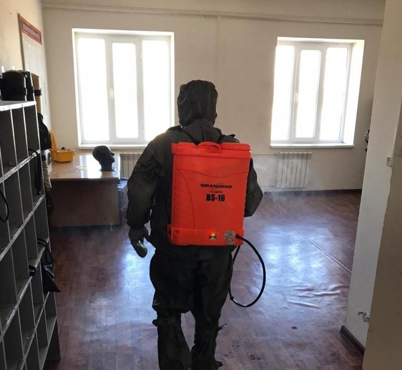 В подразделениях продолжается работа по недопущению распространения вирусных инфекций!
