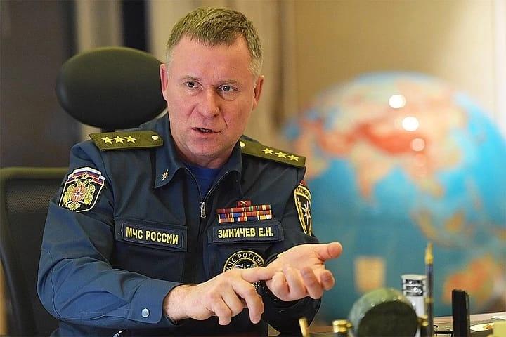 Глава МЧС Евгений Зиничев: У нас режим повышенной готовности. Расслабляться сейчас никому нельзя