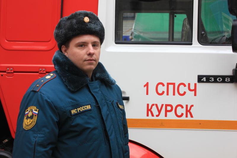 #РовесникиМЧС: старший инструктор службы радиационной, химической защиты 1 СПСЧ г. Курска Дмитрий Сабельников