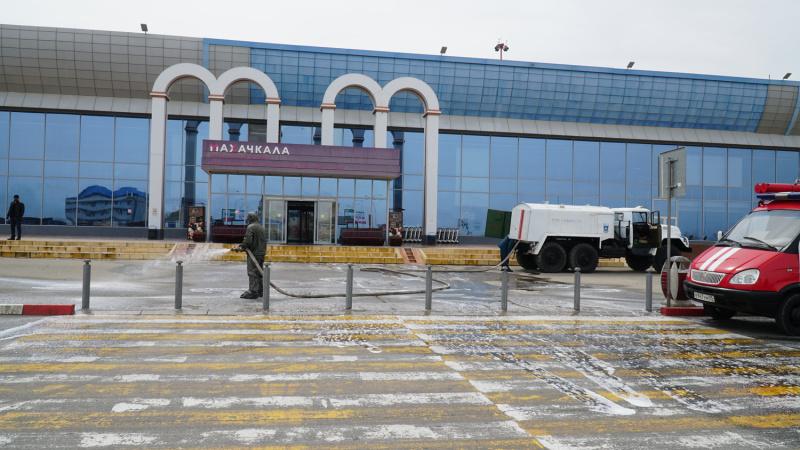 В республике силами МЧС Дагестана   проводятся профилактические дезинфекционные мероприятия