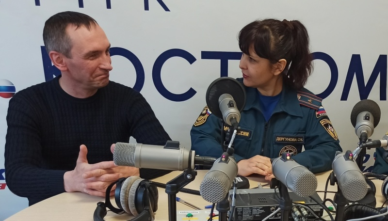 Радиоэфир по вопросам бeзопасности