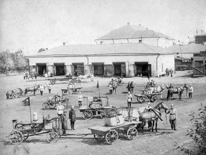 Ко Дню пожарной охраны: история развития и становления пожарной охраны города Мурома