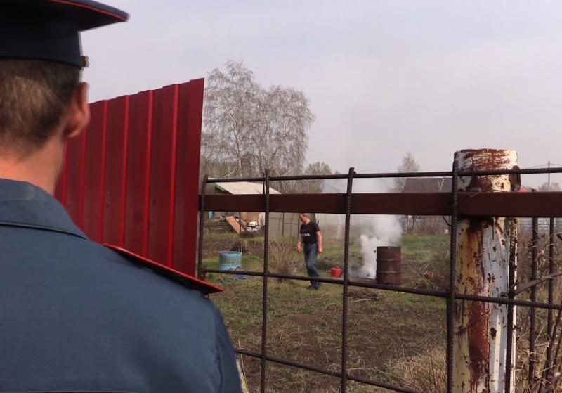 В Новосибирской области МЧС активно выявляет поджигателей травы. Возбуждено порядка 800 административных дел (фото, видео)