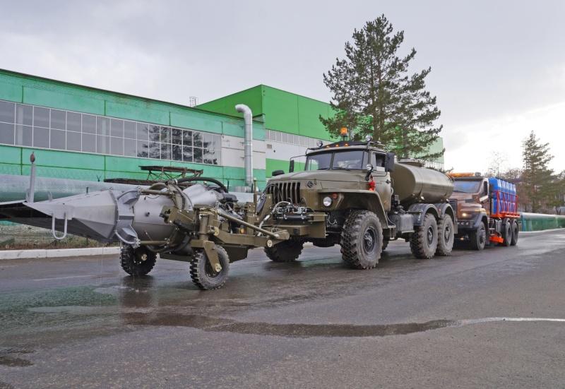В Челябинской области на борьбу с COVID-19  вышел уникальный автомобиль-дезинфектор
