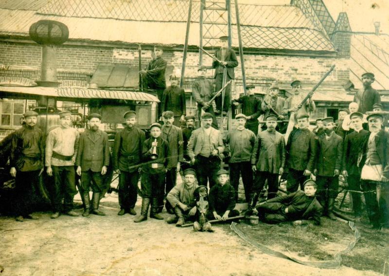 Ко Дню пожарной охраны: история развития и становления пожарной охраны города Гусь-Хрустального