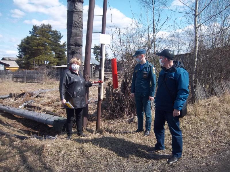 Профилактическая работа в рамках пожароопасного периода в Мантуровском районе