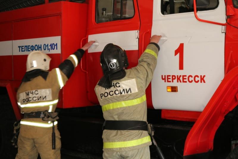 В рамках информационной акции «Огнеборцы Карачаево-Черкесии»