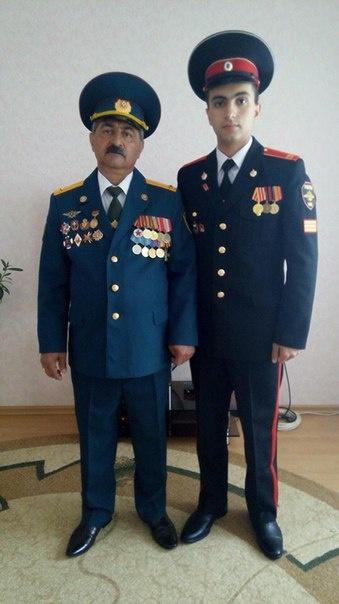 Юрий Гукасян - огнеборец из династии пожарных