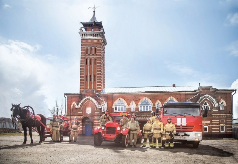 30 апреля - День пoжарнoй охраны