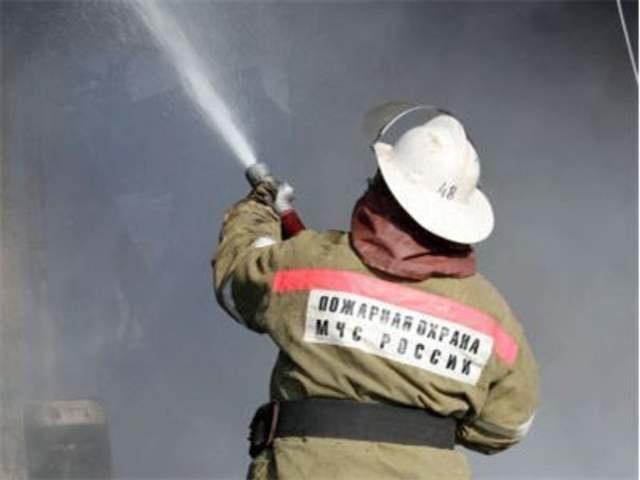 Ликвидация пожара в Трубчевском районе