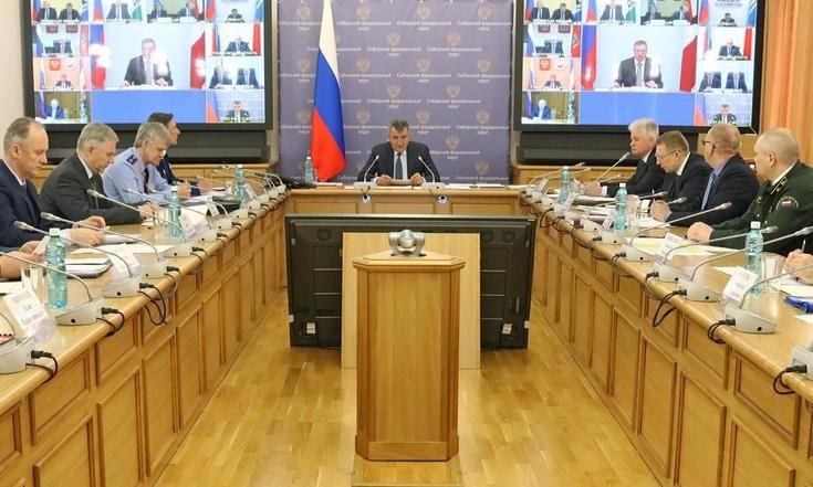 Вопросы обеспечения безопасности населения Сибири в период весенних рисков обсудили на заседании межведомственной комиссии