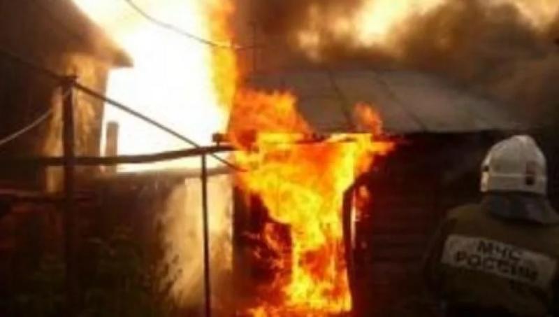 Пожарно-спасательные подразделения Псковской области принимали участие в ликвидации пожара в Псковском районе