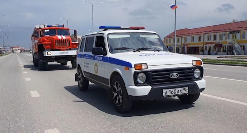 Сотрудники МЧС призывают жителей Чеченской Республики соблюдать режим самоизоляции