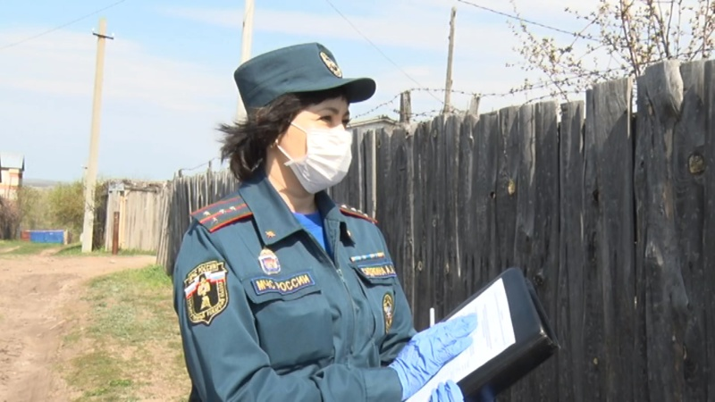 Профилактическая работа в период особого противопожарного режима (г. Сызрань)