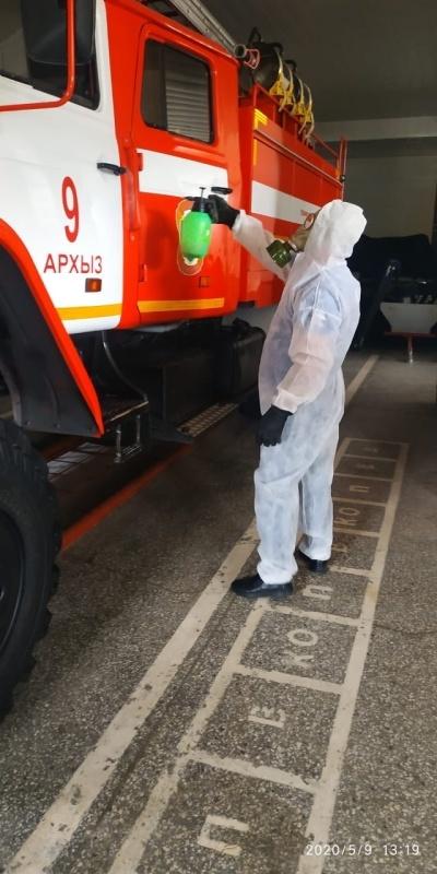 В подразделениях продолжается работа по недопущению распространения вирусных инфекций