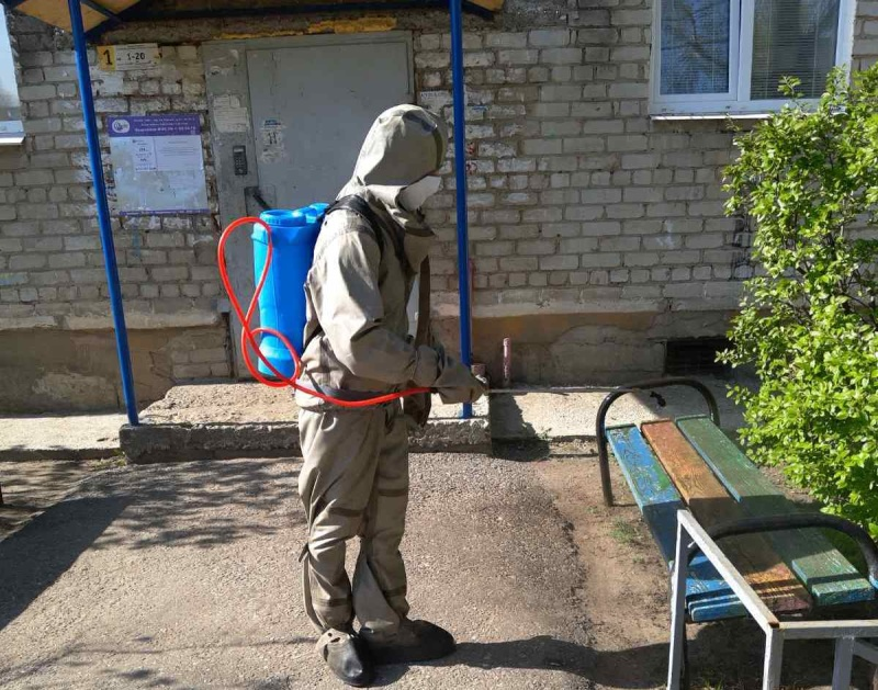 В Ульяновской области продолжаются работы по профилактике новой коронавирусной инфекции