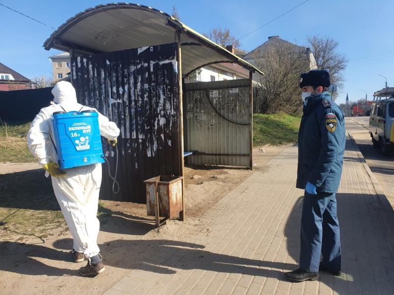 В городах и районах Хакасии пройдет дополнительная санитарная обработка
