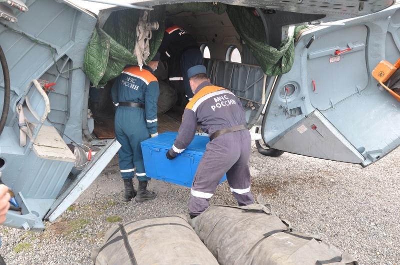 На восточное побережье Камчатки отправили мобильный медицинский пункт МЧС России