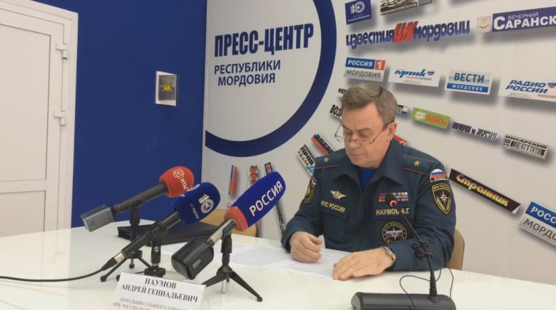Противопожарный режим в Мордовии