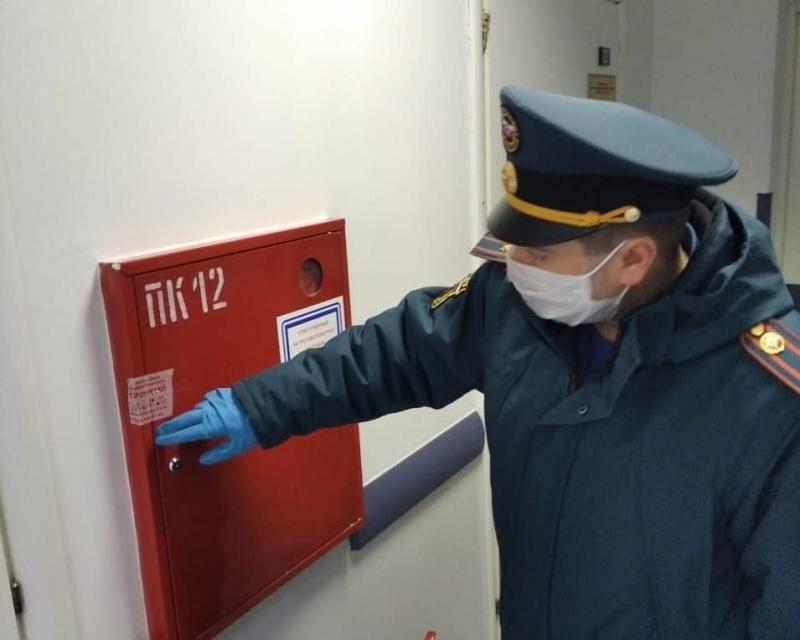 С персоналом центральной городской больницы Реутова проведены занятия по пожарной безопасности