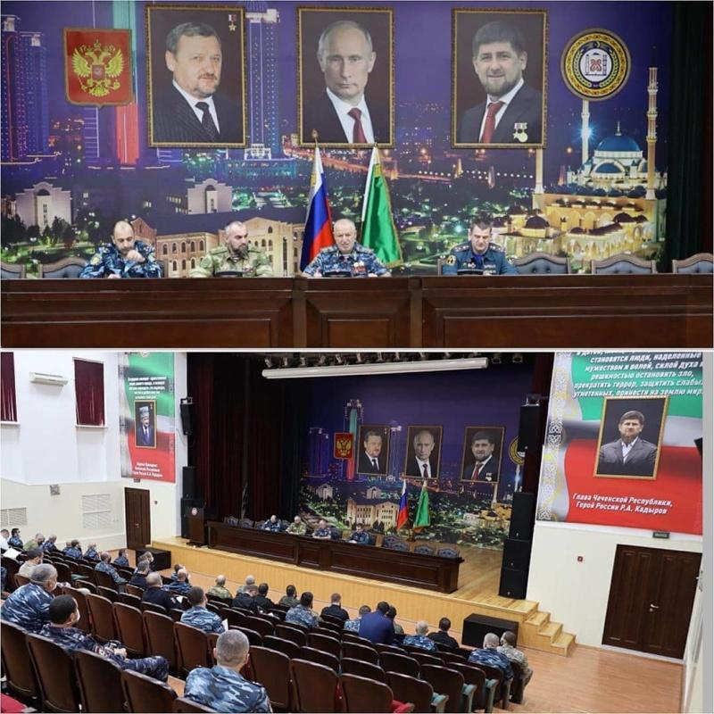 В Грозном обсудили вопросы обеспечения безопасности в праздничные дни