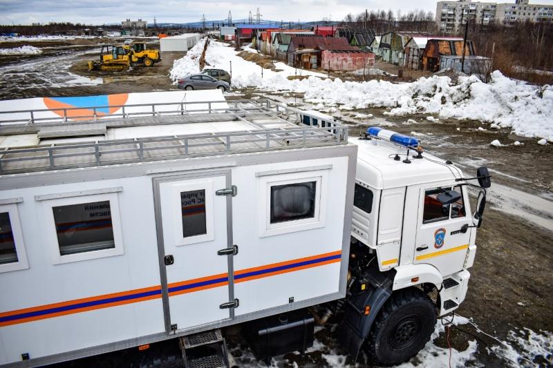 В Мурманской области с помощью МЧС России построят модульный полевой госпиталь вместимостью до 700 мест