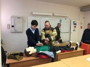 Клуб добровольных юных пожарных МКОУ «СОШ № 1» п. Воротынск занял первое место в конкурсе