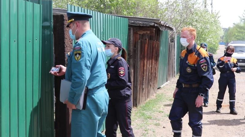 Забайкальское МЧС России проводит совместные профилактические противопожарные рейды