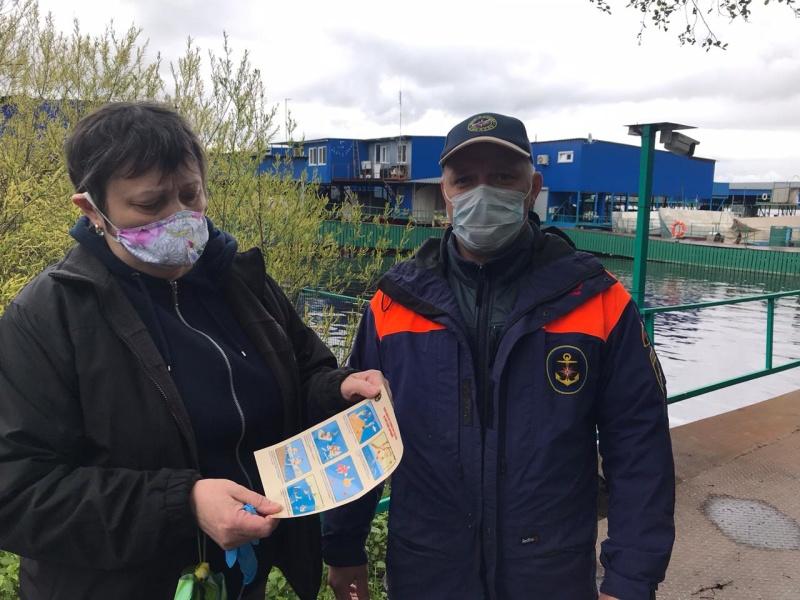 Инспекторы ГИМС провели рейд на Пестовском водохранилище