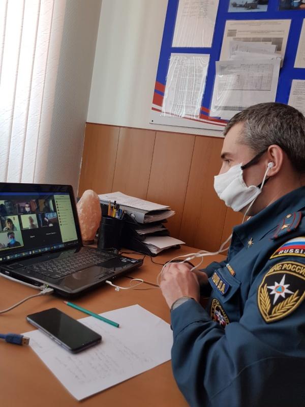 Вебинар со специалистами психологических центров территориальной подсистемы РСЧС Мурманской области