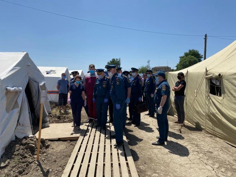В Республику Дагестан прибыла рабочая группа МЧС России (видео)