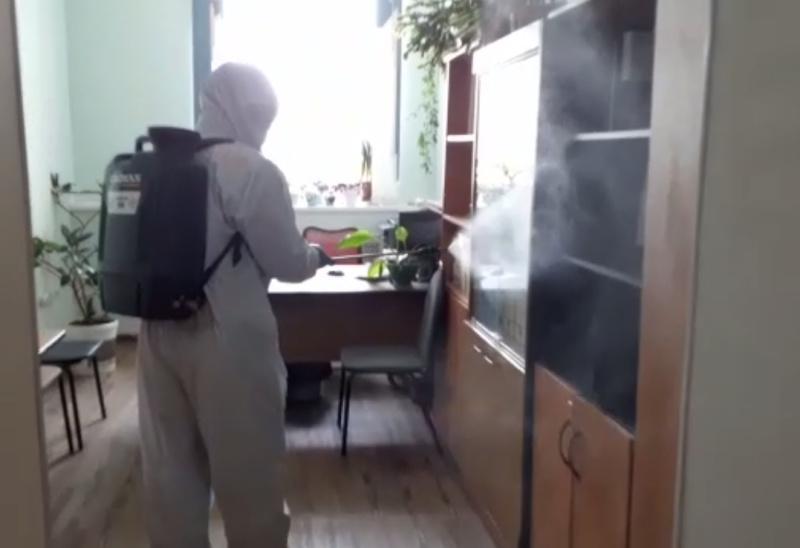 Дезинфицирующие обработки в Ферзиковском районе