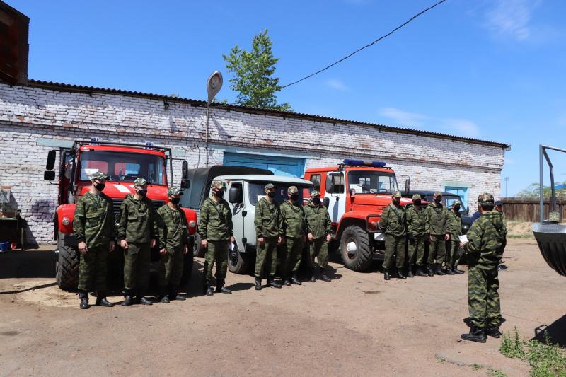 В черте Улан-Удэ прошло масштабное патрулирование в лесном массиве