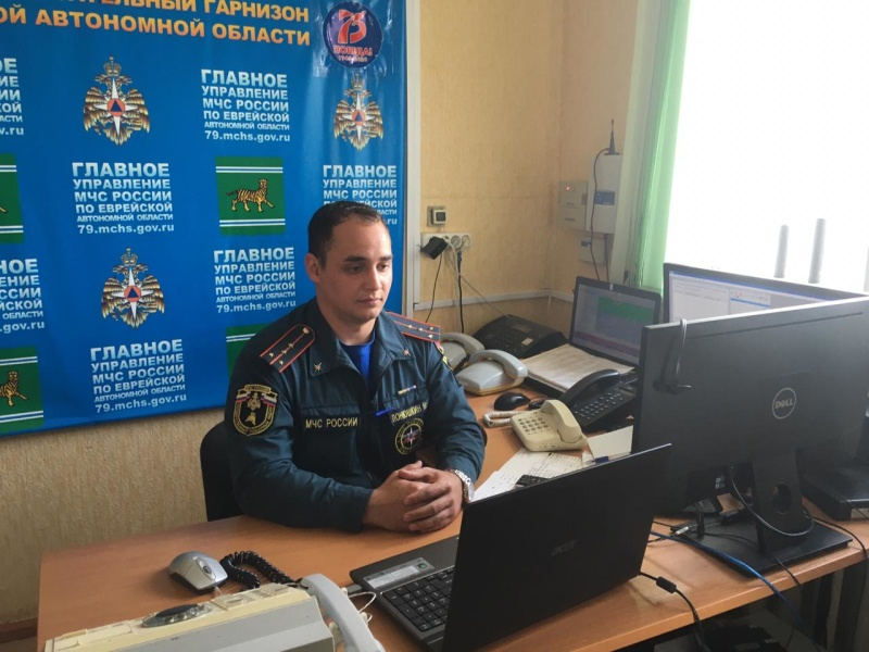 К онлайн-занятиям со школьниками перешли спасатели Ленинского района