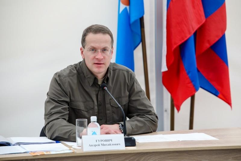 Заместитель главы МЧС России Андрей Гурович осмотрел новый госпиталь в Мурманской области